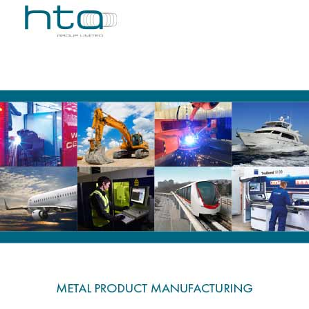 HTA Group brochure front cover