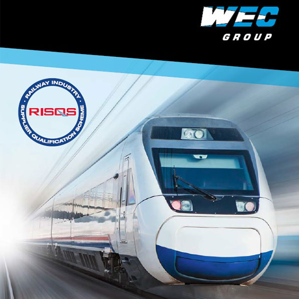 WEC Rail brochure front cover